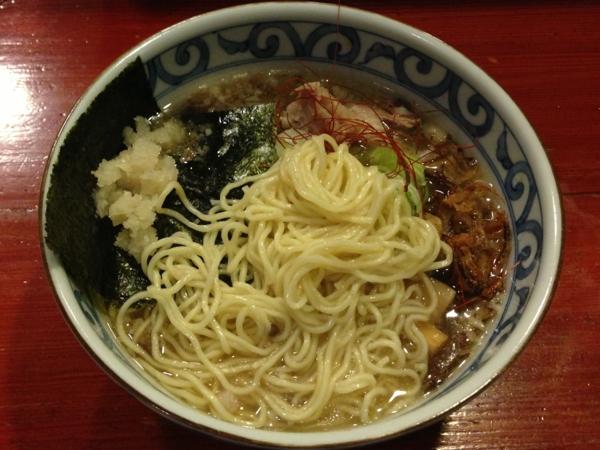 麺屋十郎兵衛 ら・じゅう牛塩ラーメン 麺
