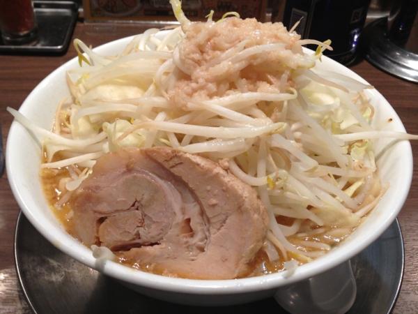 東京ラーメンストリート ジャンクガレッジ 味噌ラーメン(中) 全増し
