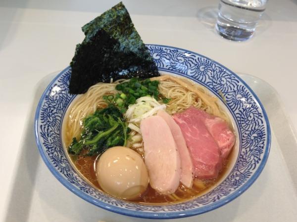 マルハン茨島店ごはんどき 麺屋一燈 特製芳醇香味そば(醤油)