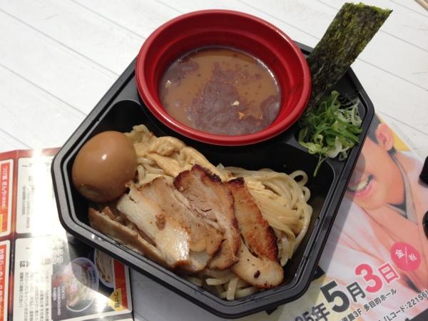 ラーメンフェスティバル2013in秋田 つけ麺ぎんや