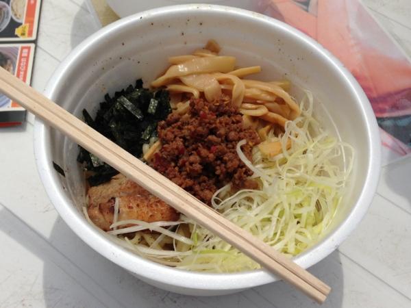 ラーメンフェスティバル2013in秋田 麺屋はなび