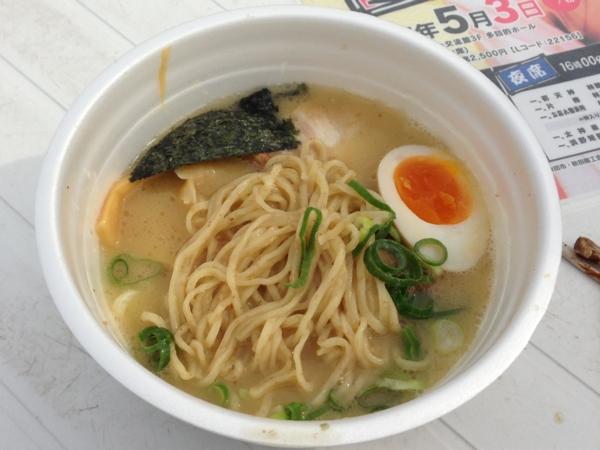 ラーメンフェスティバル2013in秋田 気むずかし屋 麺