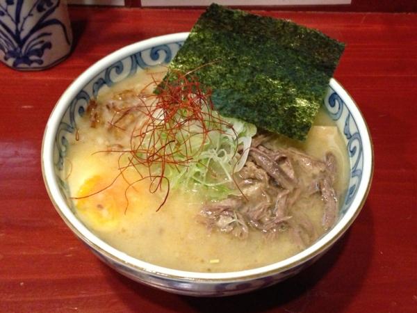 麺屋十郎兵衛 ら・じゅう牛塩ラーメン(二杯目)