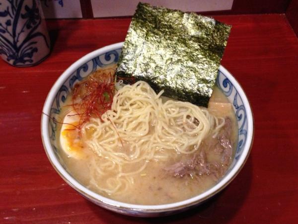 麺屋十郎兵衛 ら・じゅう牛塩ラーメン(二杯目) 麺