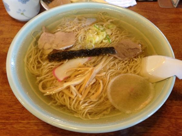 丸竹食堂 中華そば(大盛り)