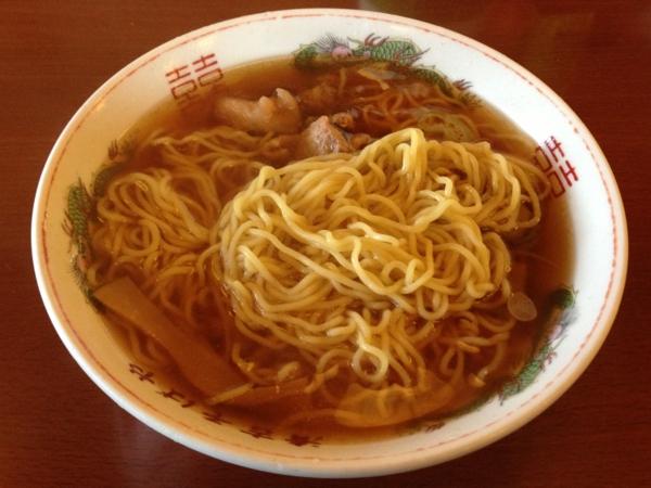 清吉そばや 中華そば 麺