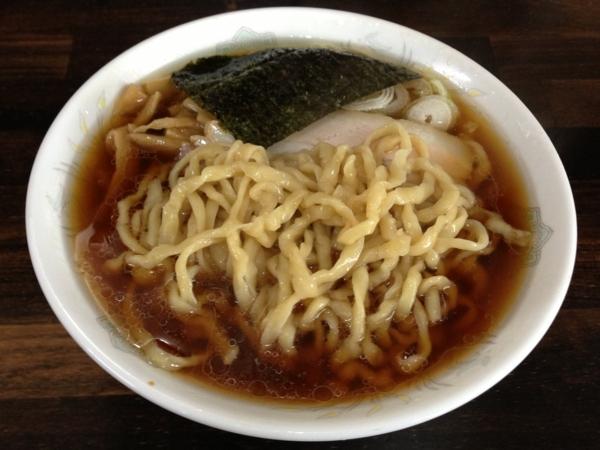 麺工房 太麺屋 小盛り(油多め) 麺
