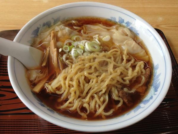 麺処味龍 ワンタン麺 麺