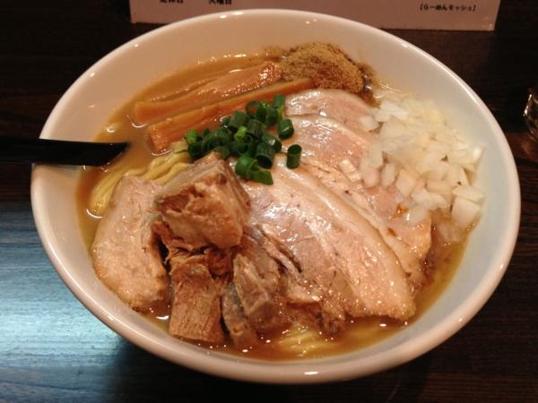 RAMEN MOSH チャーシューらーめん 麺W