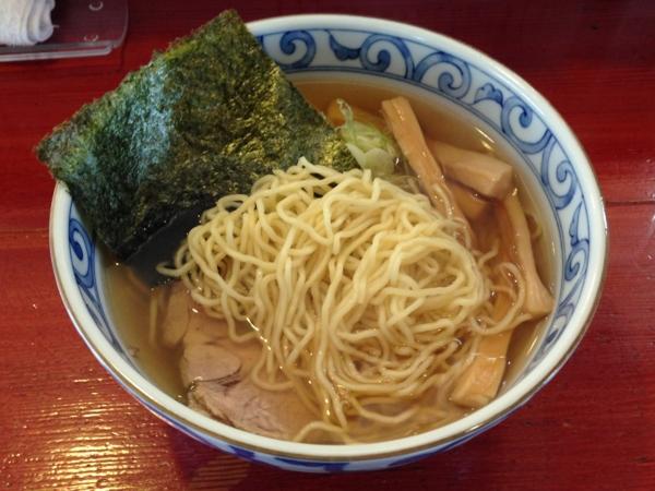 麺屋十郎兵衛 朝中華そば 麺