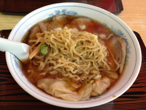 麺処味龍 チャーシューワンタン麺 麺