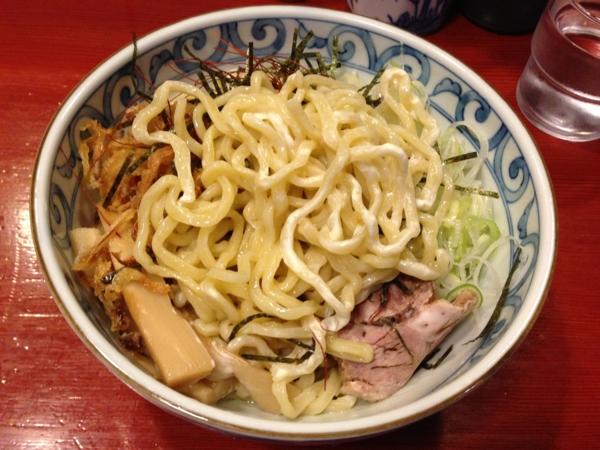 麺屋十郎兵衛 サルピコン風冷やしまぜそば(二杯目) 麺