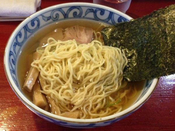 麺屋十郎兵衛 朝中華 麺