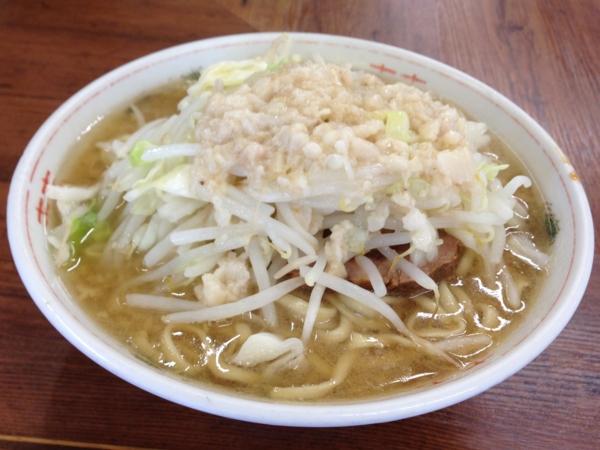 ラーメン二郎品川店 ラーメン小(普通盛)