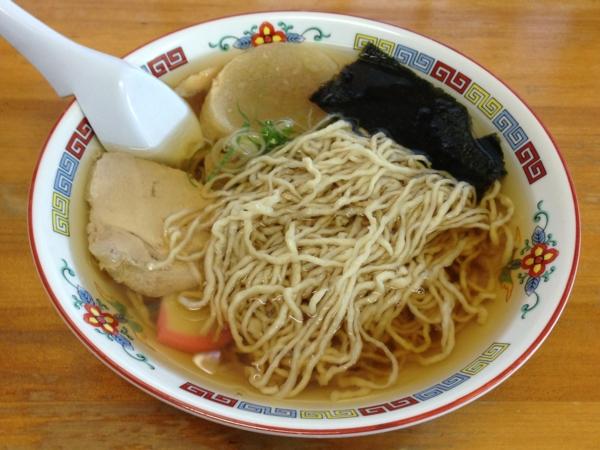 マルタマ 中華そば 麺