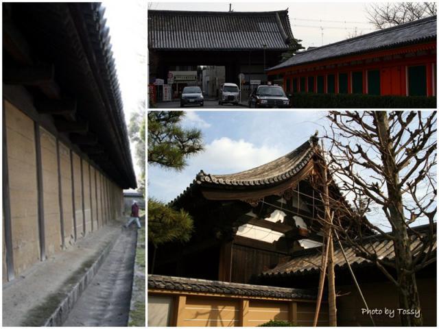 南大門 太閤塀