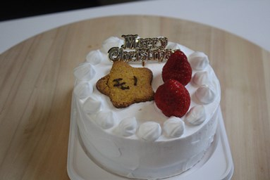 ものくんケーキ