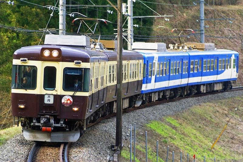 2010年3月23日 田野倉~上大月にて (1)