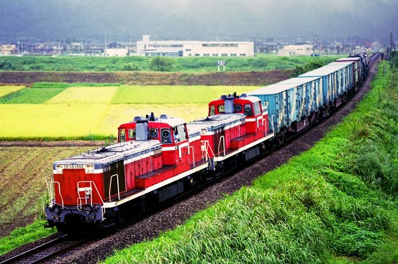 2001年8月31日 西富山~速星にて (1)