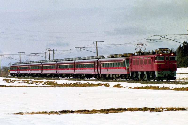 1993年1月4日 翁島~猪苗代にて