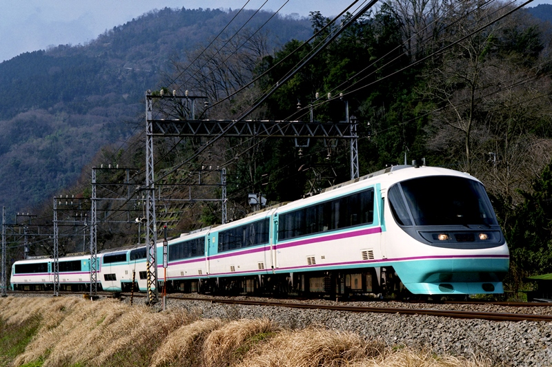 2008年3月16日 新松田~渋沢にて (2)