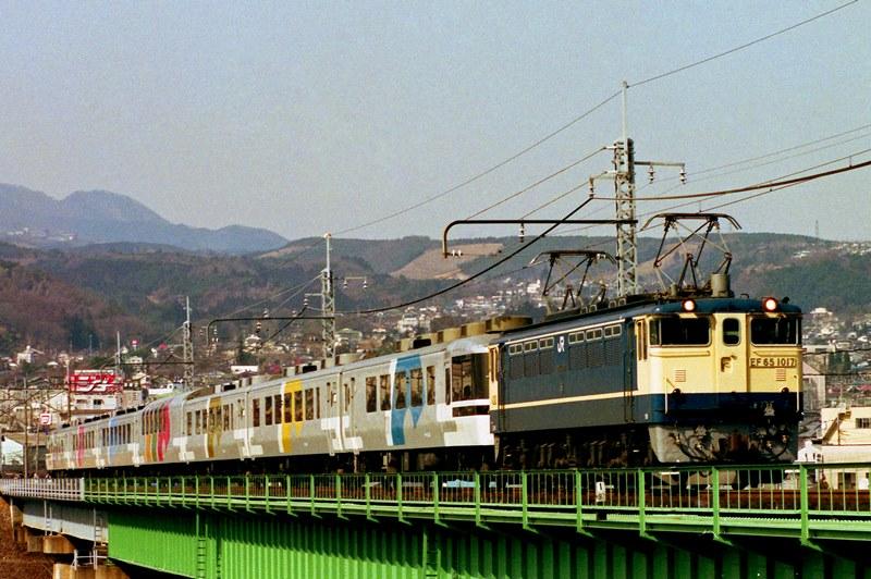 1992年3月8日 渋川~敷島にて