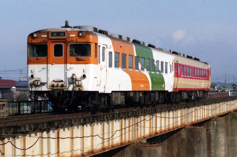 1990年2月5日 常陸青柳~水戸にて (3)