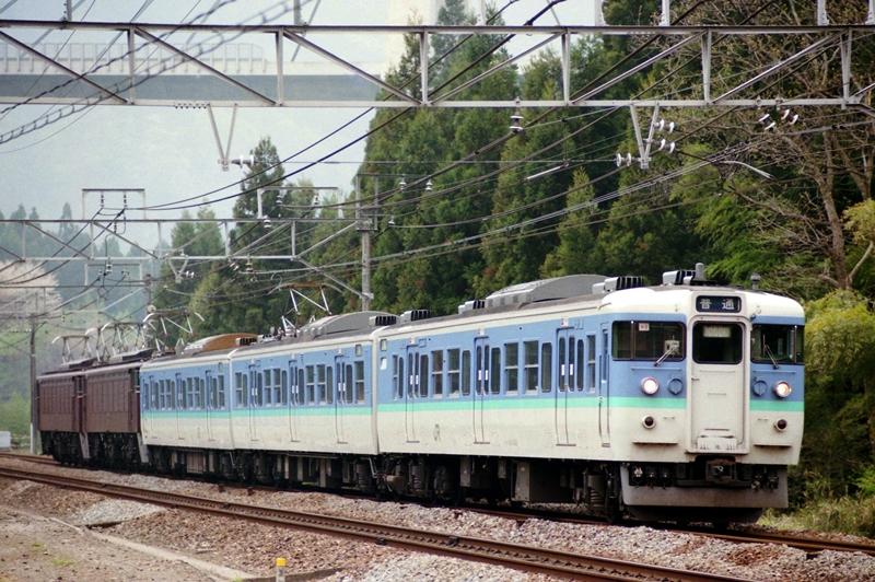 1997年4月21日 横川~熊ノ平(信)にて
