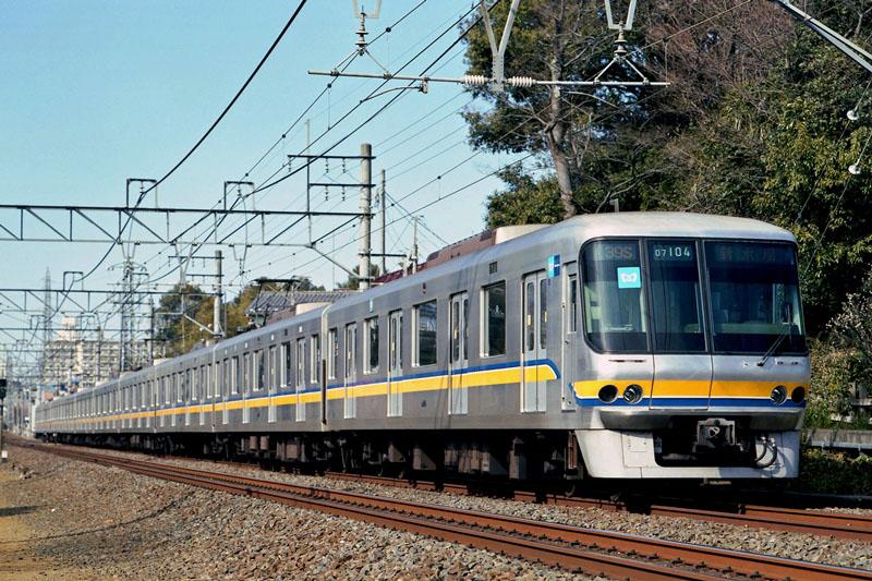 2005年2月6日 柳瀬川~志木にて (3)