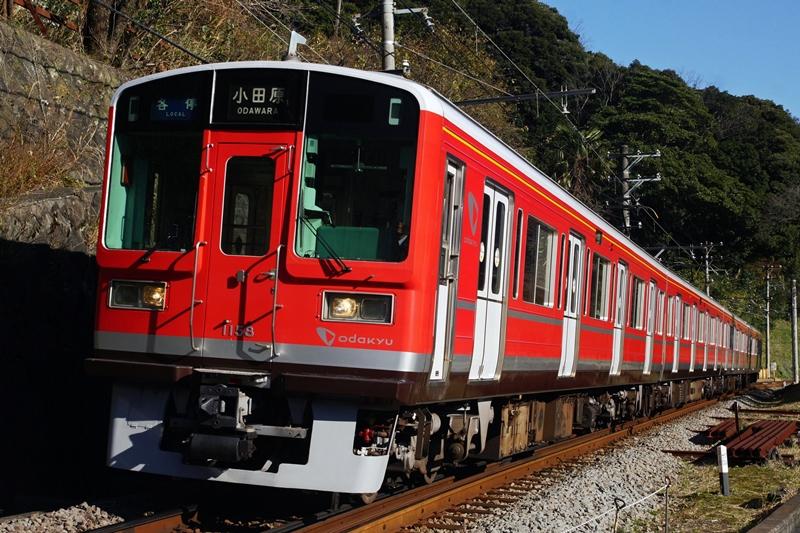 2014年12月8日 入生田~箱根湯本にて (2)