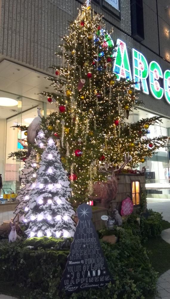 パルコ前クリスマスツリー