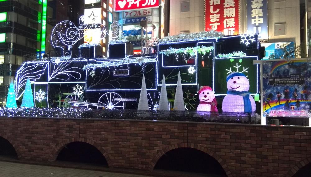 新橋クリスマス 01