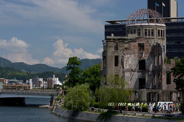 広島・原爆ドーム8