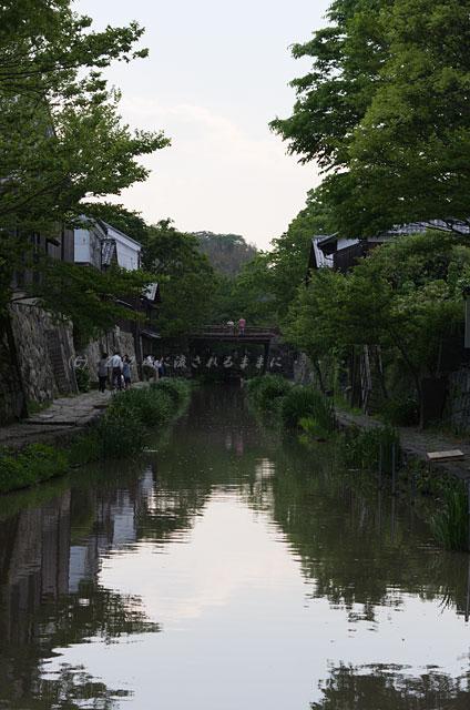 滋賀・近江八幡の町並み2