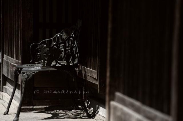 銀残しで撮る近江八幡の町並み1