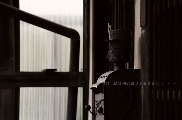 銀残しで撮る近江八幡の町並み6