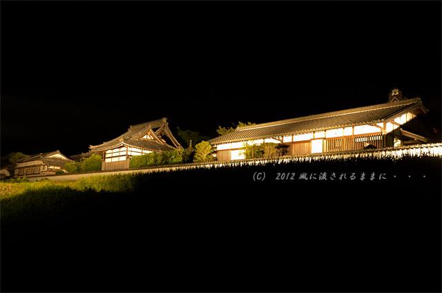 奈良・飛鳥光の回廊 橘寺1