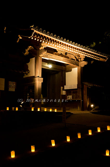 奈良・飛鳥光の回廊 橘寺2