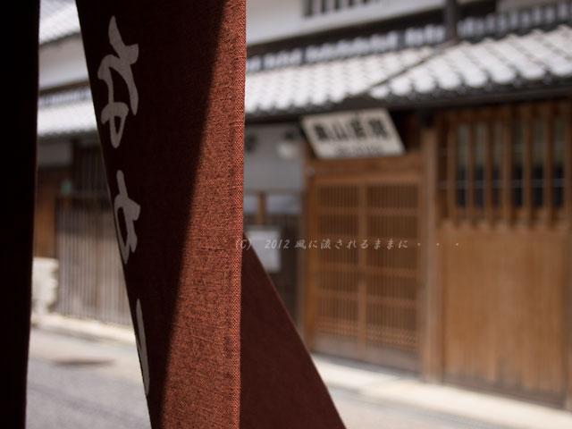 大阪・富田林 寺内町の町並み1