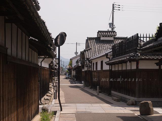 大阪・富田林 寺内町の町並み4