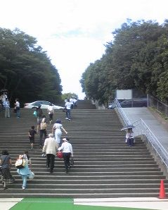関大アイスアリーナ・階段 1