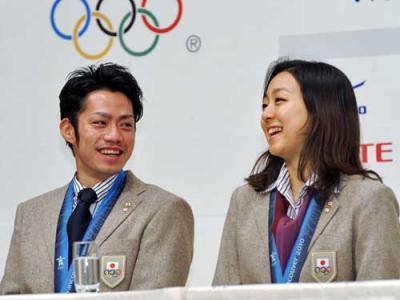 神戸ライフ:バンクーバーオリンピック会見 2