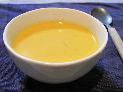 和風かぼちゃスープ