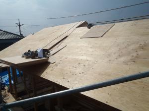 屋根仕舞4