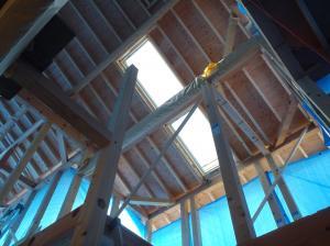 天窓設置2