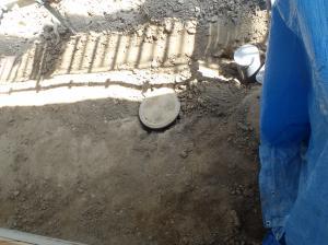 排水管埋設