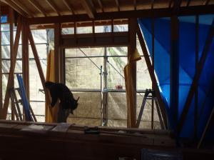 和室窓枠設置
