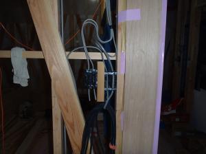 電気配線(スイッチボックス)