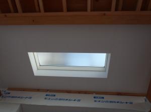 玄関天窓周囲下地