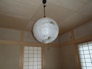 11月30日和室照明